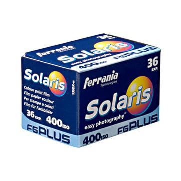 瘋底片(玖)–Ferrania Solaris 400